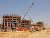 عمليات بناء العاصمة الادارية الجديدة