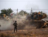 القوات التركية تتوغل فى سوريا