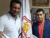 أحمد مرتضى منصور مع محمد إيهاب