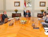 الرئيس السيسى يجتمع برئيس الوزراء المهندس شريف إسماعيل