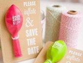أفكار مبتكرة لبطاقات الزفاف