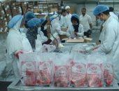 الجمعية الشرعية توزع 260 طن لحمٍ