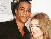 محمد رمضان وزوجته نسرين
