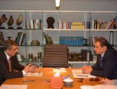 لقاء وزير القوى العاملة ونظيرة الأردنى