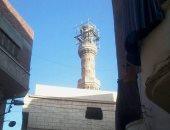 تهالك المسجد من الخارج
