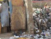 تراكم القمامة بشارع السد فى السيدة زينب