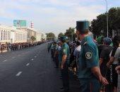 قوات الأمن فى أوزبكستان