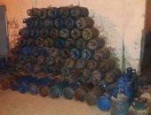 العثور على 600 إسطوانة بوتاجاز قبل بيعها بالسوق السوداء