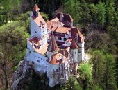 قلعة دراكولا برومانيا - صورة أرشيفية