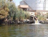 مخالفات بنهر النيل -صورة ارشيفية