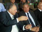 أبو ريدة مع وزير الرياضة