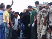 جثث ضحايا مركب رشيد