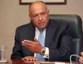 وزير الخارجية المصري سامح شكرى