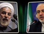 محمد جواد ظريف وزير خارجية إيران وروحانى