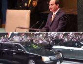 الرئيس خلال كلمته فى الجمعية العامة للأمم المتحدة