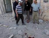 آثار الغارات على حلب