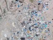 تراكم القمامة بشارع الريتش هوم فى الهانوفيل بمحافظة الإسكندرية