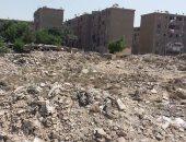 انتشارالقمامة بجانب الوحدات السكنية بمدينة السلام بالإسكندرية
