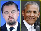 باراك أوباما وليوناردو دى كابريو