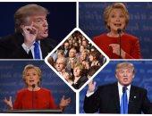 هيلارى وترامب فى المناظرة الأولى