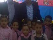 نائب الرمل يتفقد مجمع مدارس السيوف بالإسكندرية