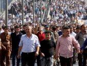 تظاهر المئات من المعلمين فى العراق