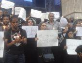 وقفة صامتة على سلالم الصحفيين لتأبين ضحايا مركب رشيد