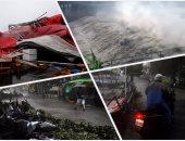 تايوان تتعرض للإعصار الثالث