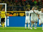 جانب من مباراة ريال مدريد ودورتموند