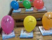 مدرسة سلطان بدوى تتزين لاستقبال الطلاب بالعام الدراسى الجديد