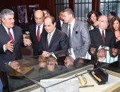السيسي يفتتح متحف جمال عبد الناصر