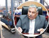 اللواء محمد سعد زغلول رئيس شركة دمياط لتداول الحاويات