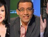 عمرو أديب وخالد صلاح وإسعاد يونس