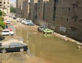 مياه الصرف الصحى بالشارع