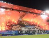 شغب جماهير ليجيا وارسو أمام دورتموند بدورى الأبطال