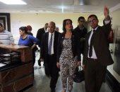 رانيا علوانى تزور مستشفى بهية لدعم سيدات مصر