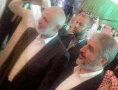 مشعل وهنية فى احتفال السفارة السعودية فى قطر بالعيد الوطنى