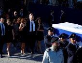 جنازة شيمون بيريز