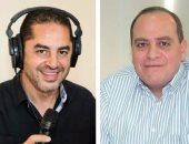 المخرج أحمد شفيق والمنتج صادق الصباح