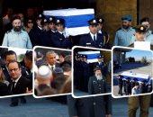 مراسم تشييع ودفن جثمان الرئيس الإسرائيلى السابق شيمون بيريز