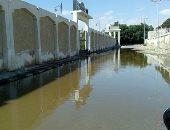 غرق مقر الحى بمياة الصرف
