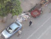 تراكم القمامة فى حى محرم بك فى الإسكندرية