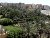 المساحات الخضراء بمنطقة 15 مايو