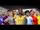 أبرز أساطير كرة القدم