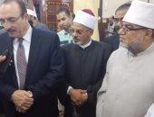 الشيخ كمال عبدالتواب ومحافظ بنى سويف