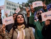 مظاهرات فى تركيا