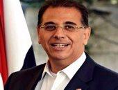 السفير المصرى بتونس نبيل حبشى