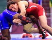 سمر حمزة لاعبة منتخب المصارعة