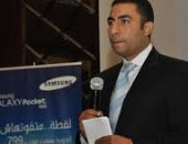 شريف بركات المدير التجارى لسامسونج اليكترونيكس مصر
