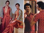 جانب من موضة أزياء الرجال فى السبعينيات